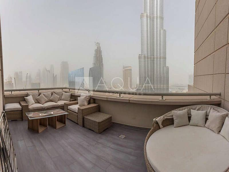 Amazing 3 Bed Penthouse with 3 Balconies