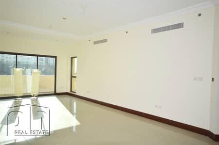 شقة 2 غرفة نوم للايجار في نخلة جميرا، دبي - Immaculate | road View | Ready to Move