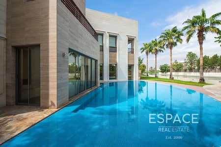 فیلا 5 غرف نوم للبيع في تلال الإمارات، دبي - Full Lake View - Fully Furnished