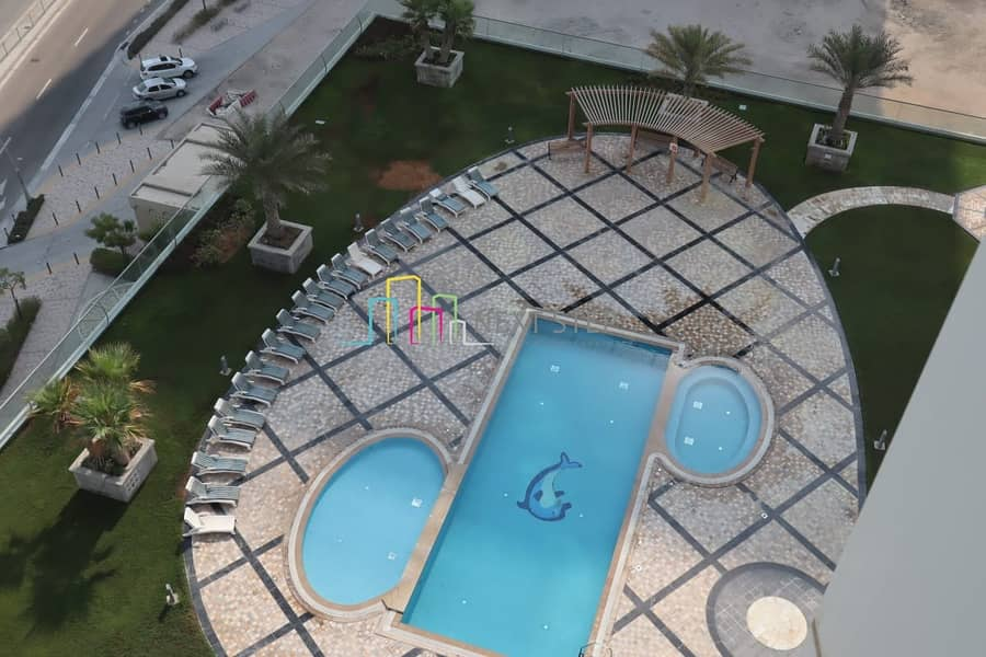 6 Payments & Free Chiller*Impressive 2 BR with Iconic Sea view