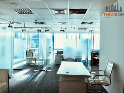 Office for Rent in Jumeirah Lake Towers (JLT), Dubai - Fully Furnished office For RENT in Indigo Tower JLT