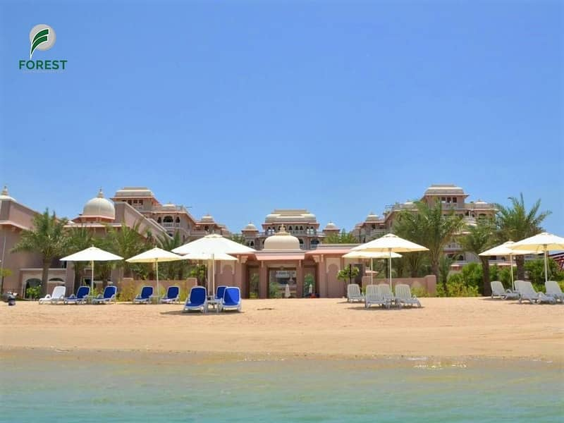 2 Spacious Furnished 1 Bedroom with Full Sea View