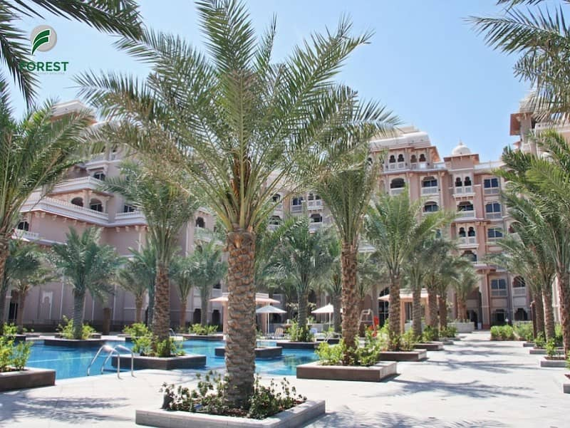 10 Spacious Furnished 1 Bedroom with Full Sea View