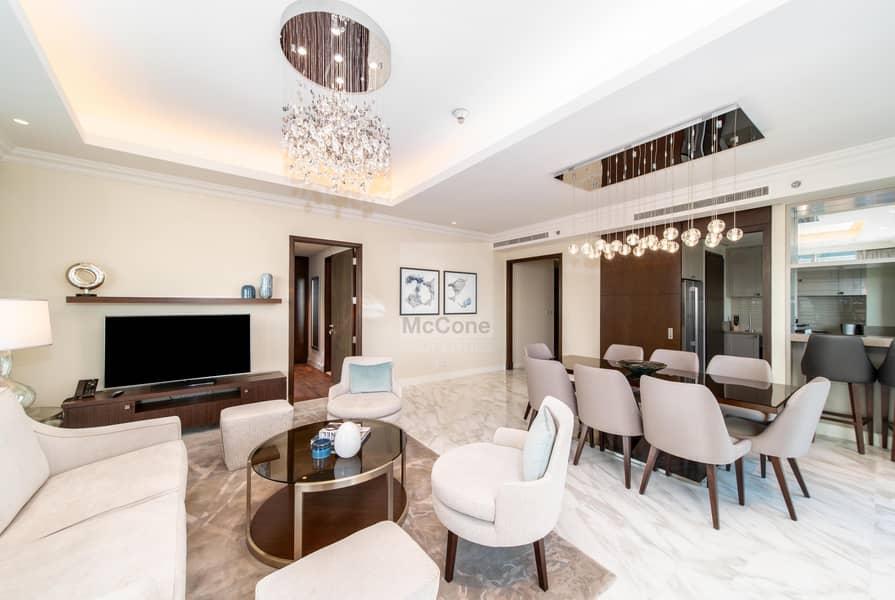 Stunning 3 Bed | Full Burj Khalifa Views