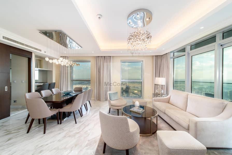 2 Stunning 3 Bed | Full Burj Khalifa Views