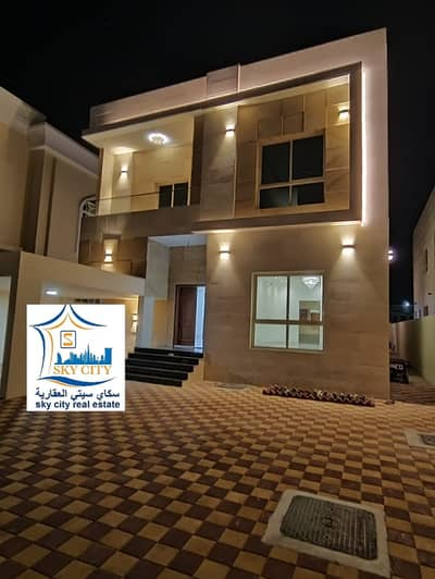5 Bedroom Villa for Sale in Al Mowaihat, Ajman - Villa opposite a gym, personal building, residential, commercial street