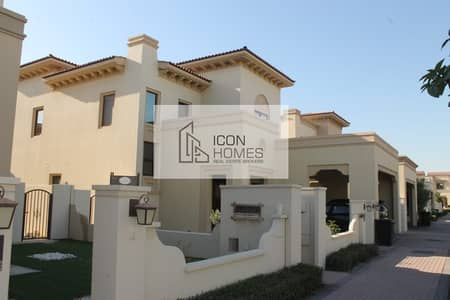 4 Bedroom Villa for Rent in Arabian Ranches 2, Dubai - ARABIAN RANCHES 2 ROSA 4 BED ROOM MAID BIG GARDEN READY TO MOVE