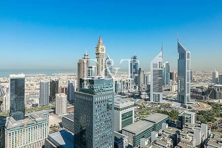 3 Bedroom Flat for Sale in DIFC, Dubai - DIFC and Sea views | High Floor | Tenanted