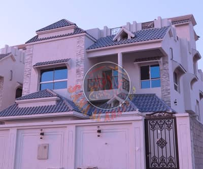 5 Bedroom Villa for Sale in Al Mowaihat, Ajman - Marvellous villa with European design for sale in Ajman