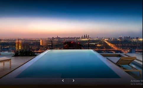 فلیٹ 1 غرفة نوم للايجار في قرية جميرا الدائرية، دبي - Fully Furnished 1BR | Huge Terrace | Private Pool