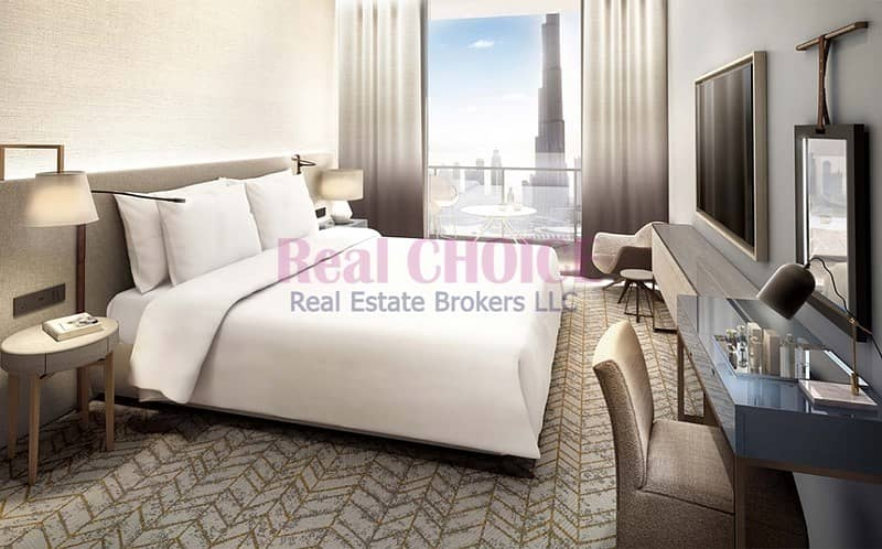 2 2 Bedrooms Uninterrupted views of Burj Khalifa and The Dubai Fountain