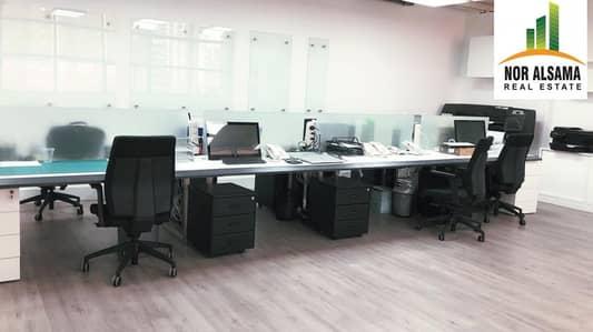 Office for Rent in Jumeirah Lake Towers (JLT), Dubai - Beautifully Furnished Office | Mazaya BB1 | JLT