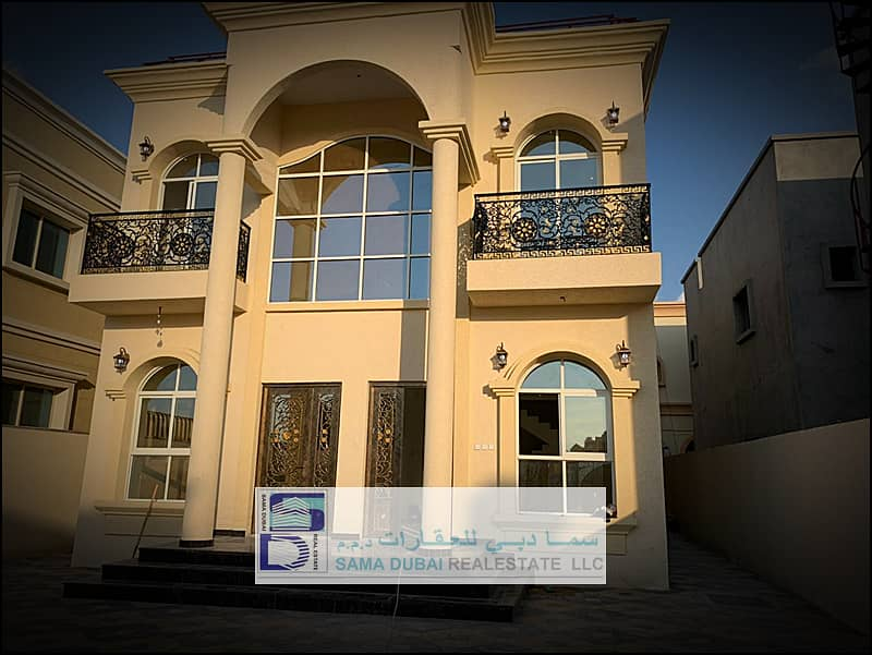 I own a villa with the lowest prices In front of the mosque directly, excellent location and a snapshot price, with the possibility of bank financing