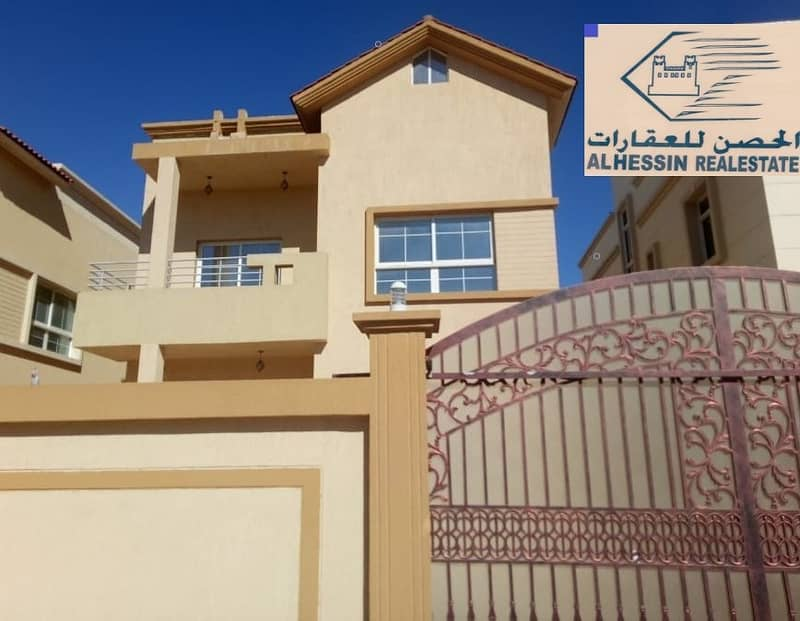 For sale, modern villa, amazingly, with a snapshot of monthly installments for 25 years, with large bank credit.