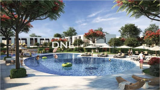 3 Bedroom Townhouse for Sale in Tilal Al Ghaf, Dubai - 40% Post Handover Payment   Resort-liked Townhouse