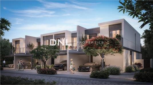 تاون هاوس 3 غرف نوم للبيع في تلال الغاف، دبي - 40% Post Handover Payment | Resort-liked Townhouse