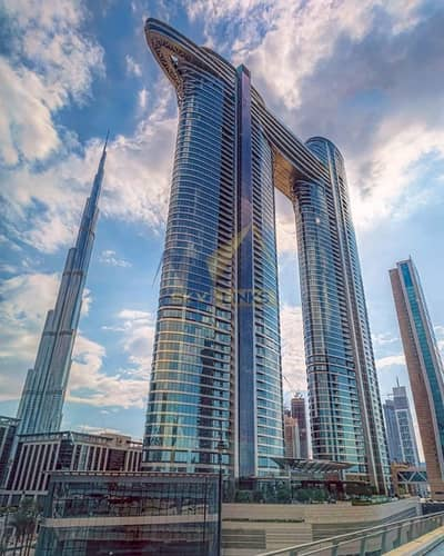 2 Bedroom Hotel Apartment for Rent in Downtown Dubai, Dubai - Meticulously Designed  Brand new Serviced Apartment
