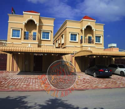 5 Bedroom Villa for Sale in Al Mowaihat, Ajman - Modern villa in a great location at an attractive price - next to a mosque