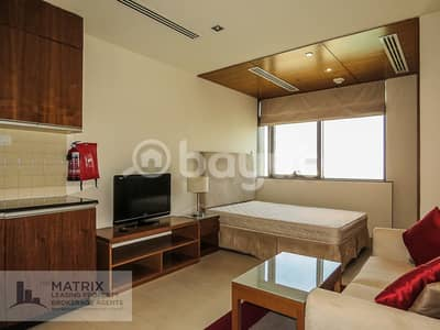 Studio for Rent in Dubai Sports City, Dubai - AMAZING FULLY FURNISHED STUDIO - THE SPIRIT TOWER - AED 31