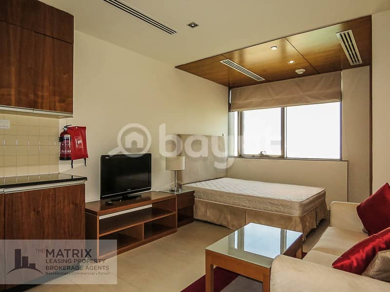 AMAZING FULLY FURNISHED STUDIO - THE SPIRIT TOWER - AED 31