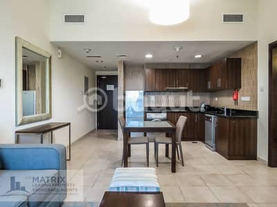 شقة 1 غرفة نوم للايجار في مدينة دبي الرياضية، دبي - EXECUTIVE ONE BEDROOM - AED 45