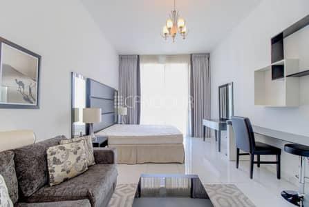 استوديو  للايجار في مدينة دبي الرياضية، دبي - Fully High End Furnished | Well Maintained Studio