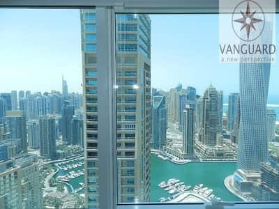 1 Bedroom Flat for Rent in Dubai Marina, Dubai - Huge 1 Bedroom Apartment with Sea View in Dubai Marina