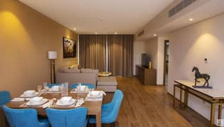 Own 2BR at Terhab residence service by 5* hotel from 6.900 monthly
