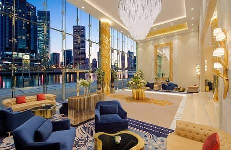 استوديو  للبيع في الخليج التجاري، دبي - Canal View Luxury Studio in Damac Maison Prive