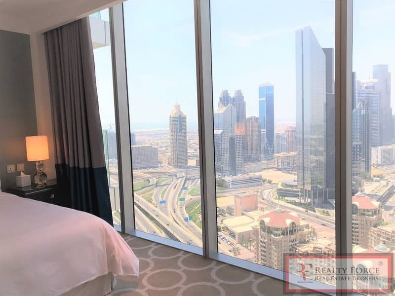 HIGH FLOOR | FULL DIFC VIEW | FULLY SERVICED