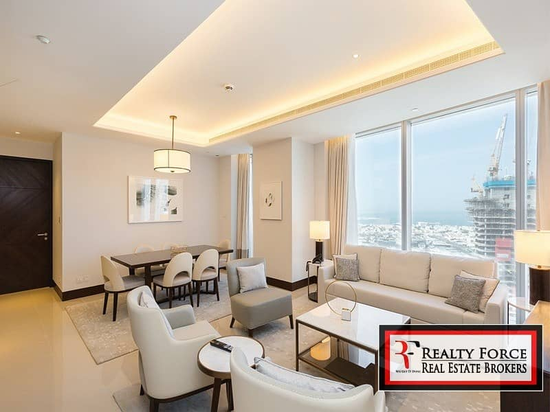 FULLY SERVICED | BURJ & SEA VIEW | TOWER 2