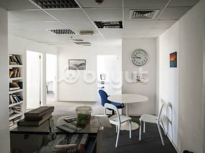 Office for Sale in Jumeirah Lake Towers (JLT), Dubai - Partitioned Corner Office - Next to Metro Station