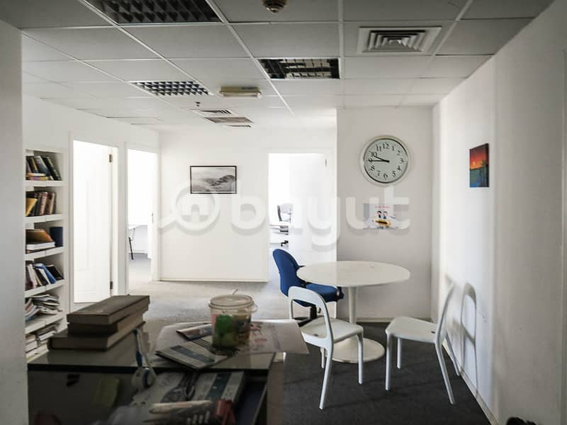 Partitioned Corner Office - Next to Metro Station