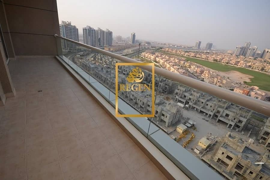 2 Full Golf Course View - Two Bedroom Hall Apartment in Golf View Residence For Sale