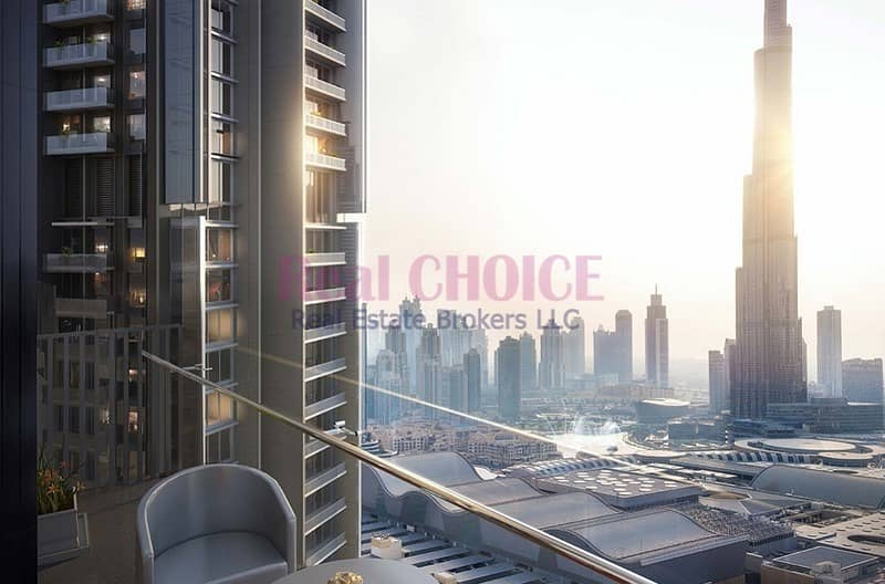 2 Vida Residences Dubai Mall |2 BEDROOMS  Full Burj Khalifa View