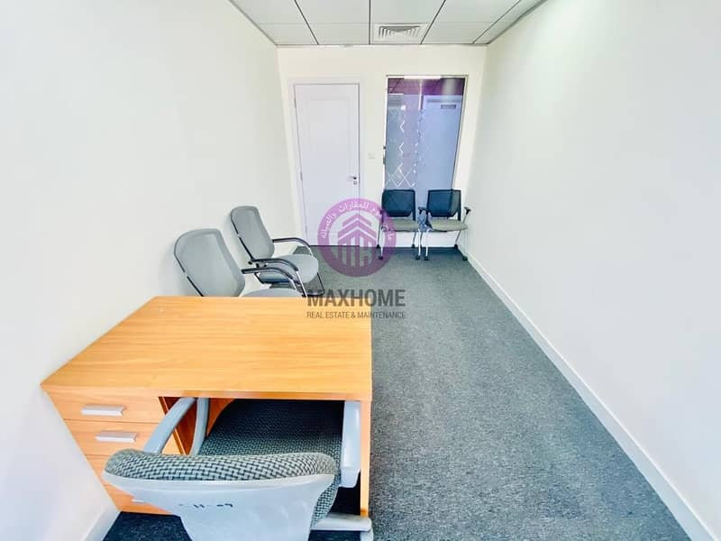 2 Primely Located City View Offices for Rent