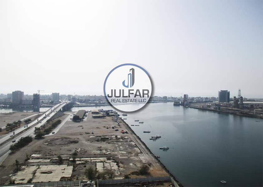 10 Magnificent Sea View 1-BHK - For Rent in Julphar.