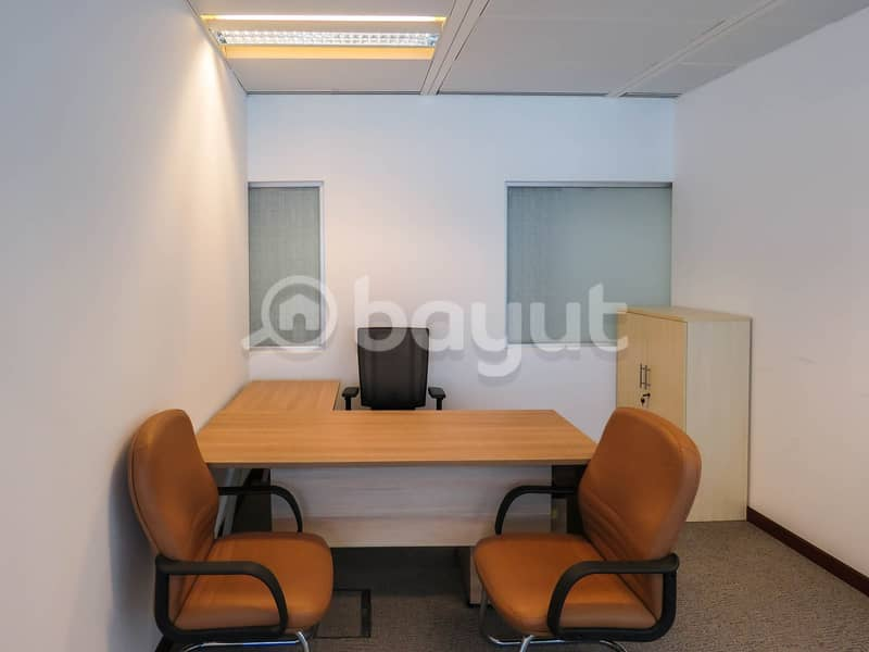 BRAND NEW CUSTOMIZED SMART & PRIVATE OFFICES AT IN BURJUMAN BUSINESS TOWER LINKED WITH METRO & MALL