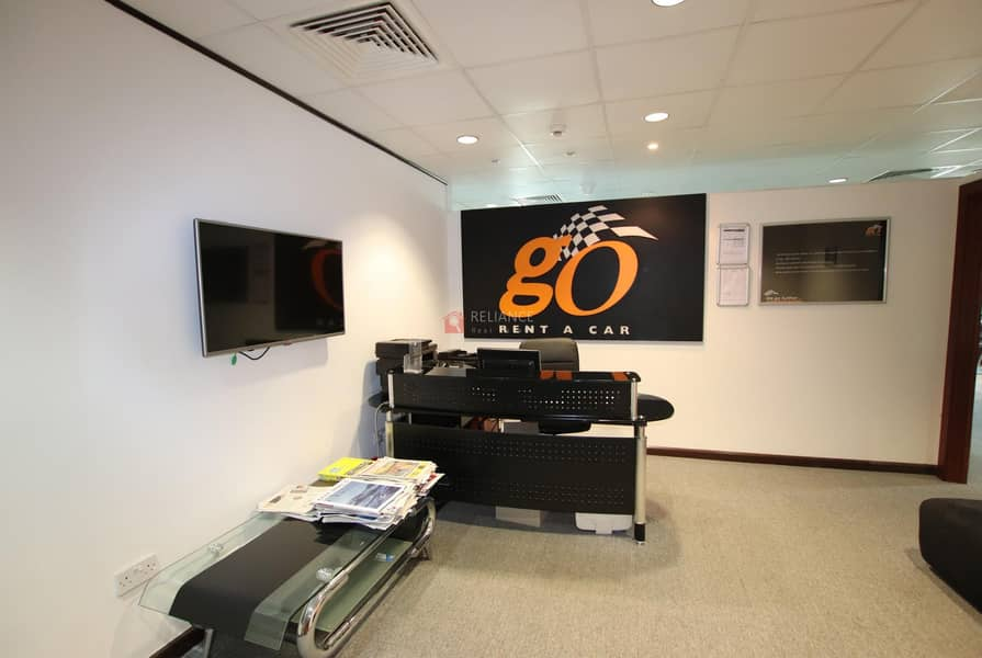 2 BEST PRICE | FULLY FITTED & FURNISHED OFFICE