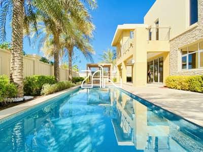 6 Bedroom Villa for Rent in Saadiyat Island, Abu Dhabi - Elegant 6 BR Executive Villa with Private Pool