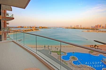 فلیٹ 1 غرفة نوم للبيع في نخلة جميرا، دبي - 1 Bedroom | Unfurnished | Available Now