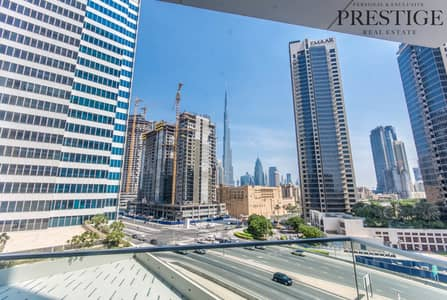 1 Bedroom Flat for Sale in Business Bay, Dubai - One Bedroom | Marquise Square | Burj Khalifa View