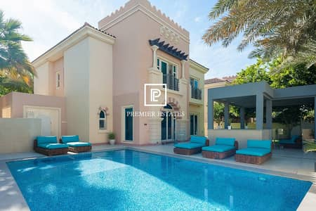 5 Bedroom Villa for Rent in Dubai Sports City, Dubai - Exceptional Villa|Fully Upgraded with Private Pool