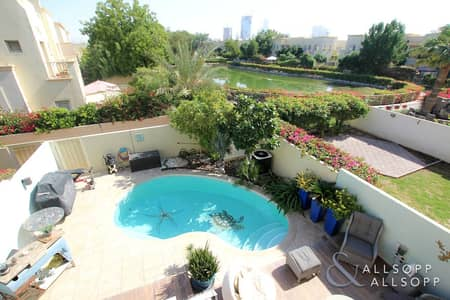 3 Bedroom Villa for Rent in The Springs, Dubai - 3Bed | Private Pool | Lake View | Upgraded