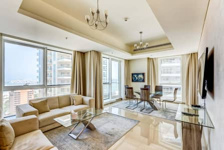 2 Bedroom Hotel Apartment for Rent in Dubai Marina, Dubai - 2 bedroom apartment- all bills included- Fully furnished-flexable payment