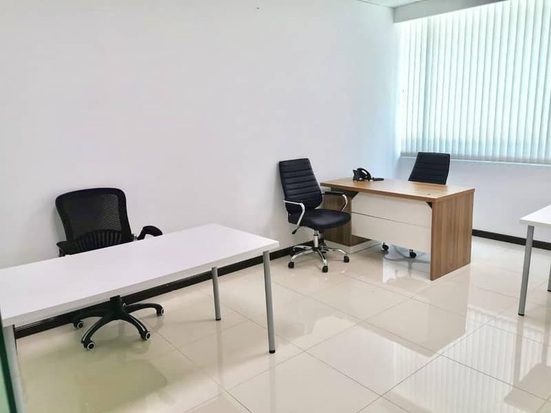 2 Fully Furnished Office Space in Prime Location