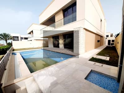 5 Bedroom Villa for Rent in Saadiyat Island, Abu Dhabi - Enjoy Paradise Living! Vacant  Exclusive Villa !