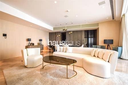 فلیٹ 3 غرف نوم للايجار في نخلة جميرا، دبي - High Floor | Available Now | Jacuzzi | Beach Pool