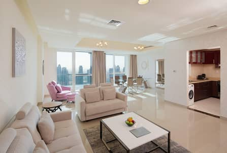 1 Bedroom Hotel Apartment for Rent in Dubai Marina, Dubai - Deluxe Bedroom apartment- All bills included-No Commission
