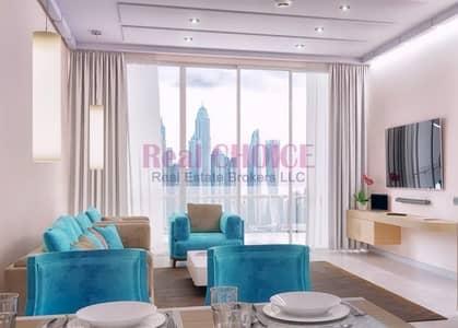 شقة فندقية 1 غرفة نوم للبيع في نخلة جميرا، دبي - Stunning Sea and Dubai Marina skyline view/spacious